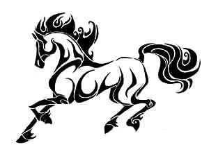 Jumping Horse Tattoo  ...