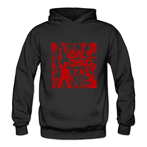 BOOMY Ash Vs Evil Dead Women's Hooded Sweatshirt SizeS