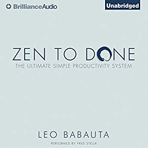 Zen to Done Audiobook