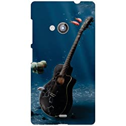 Nokia Lumia 535 Back Cover - Guitar Designer Cases