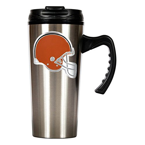 Gap Nfl Cleveland Browns 16Oz Stainless Steel Slim Stainless Steel Travel Mug Silver