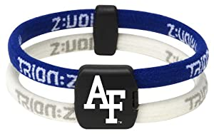 Trion NCAA Airforce Academy Wristband (Blue/Blue, Medium)