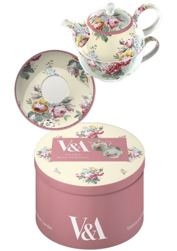 V & A 'Victoria' Fine China Tea for One