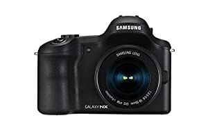Samsung Galaxy NX Camera - Black (20.3MP, 18-55 mm Kit) 4.77-Inch LCD