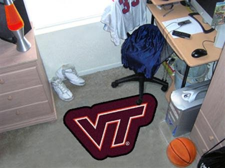 Fanmats Virginia Tech Hokies Mascot Mat by Fanmats