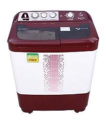 Videocon VS72H12 Gracia Plus Semi-automatic Top-loading Washing Machine (7.2 Kg, Dark Maroon)