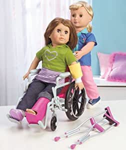 My Girl Wheelchair & Crutch Set