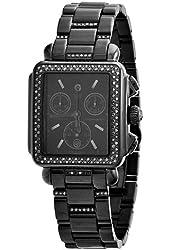 Michele Women's MWW06A000774 Deco Noir Diamond Bracelet Watch