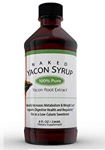 100% Pure, Real Yacon Syrup - Highest Verified FOS Percent On Amazon, & is 11.5 oz! Don't Waste Your Money on Fake Syrup! Our Premium Yacon Syrup Boosts Metabolism, Increases Regularity & Helps Regulate Blood Sugar - Love It, Or Get Every Penny Back!