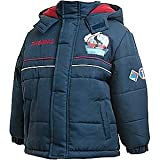 Official Thomas The Tank Engine - Boys Hooded Puffer Jacket in Blue (Age 2-3 Years)