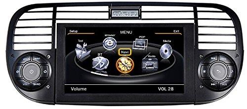 LIKECAR-62-Zoll-Car-DVD-Player-Auto-Fr-Fiat-500-AutoRadio-navigazione-Audio-Video-Multimedia-Radio-3G-WiFi-Bluetooth-20CDC-Dual-Zone-RDS-FM-AM-1G-CPU-DDR-512MB-Touch-Screen-Schwarz