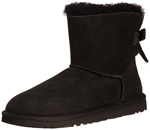 ugg australia womens mini bailey bow corduroy boot