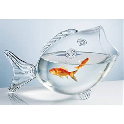 CLEAR FISH BOWL – CLEAR FISH SHAPED BOWL