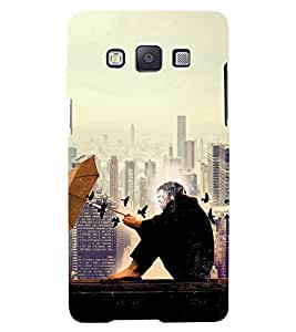 PRINTVISA Abstract Building Case Cover for Samsung Galaxy A5