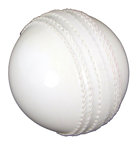 Upfront Opttium INCREDIBALL Training Cricket Ball - White - JUNIOR