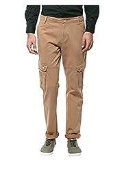 Yepme Men's Yellow Cotton Pants - YPMPANT0086_28
