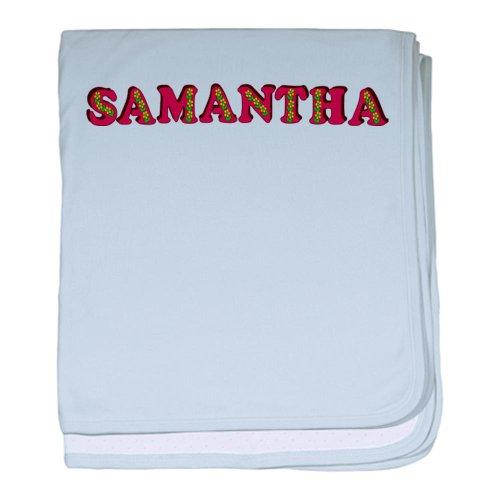 Cafepress Samantha Baby Blanket - Standard front-1068023