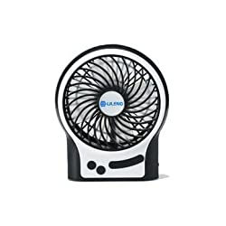 Portable Rechargeable USB Mini Home Cooling Fan 4 Inches for PC Desktop Notebook Laptop