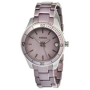 Fossil Women's ES3046 Stella Mini Stainless Purple Watch
