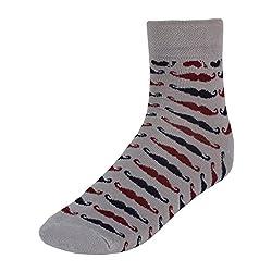 His Honour Men's Fashion Colourful Socks (1 Pair) - 5 Colours