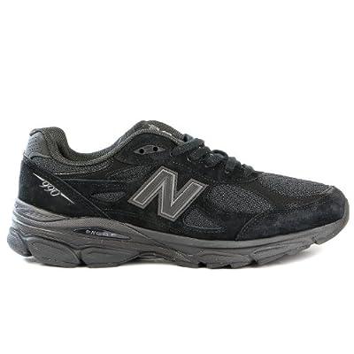 New Balance Men's 990V3 Running Shoe,Black/Black,9.5 D US