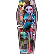 Monster High Doll Gore-geous Ghoul Beast Freaky Friend 28 Voltageous Ghoul Friend