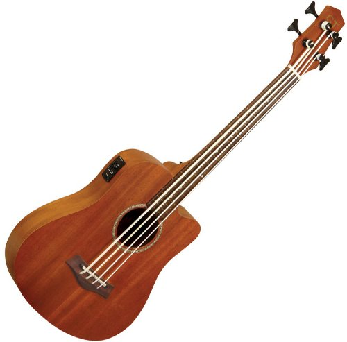 Goldtone M Bass Microbass Fretless Short-Scaled Acoustic Electric Bass W/Bag
