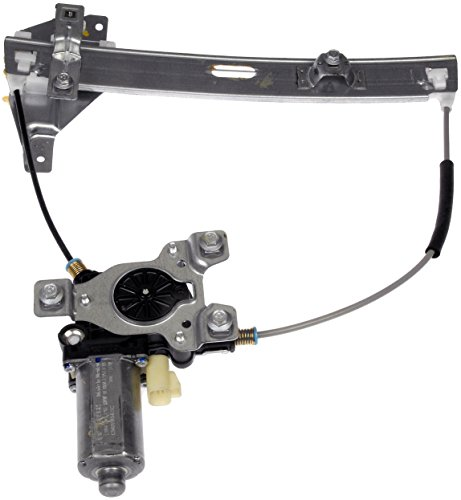 Dorman 741 622 rear driver side replacement power window regulator with motor for chevrolet Car window motor replacement