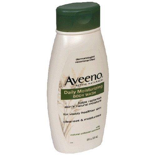 Aveeno Daily Moisturizing Body Wash, 18 oz, 2 pk