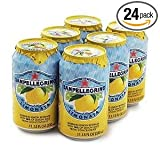 San Pellegrino Sparkling Beverage, Limonata (Lemon), 11.15-Ounce Cans (Pack of 24)