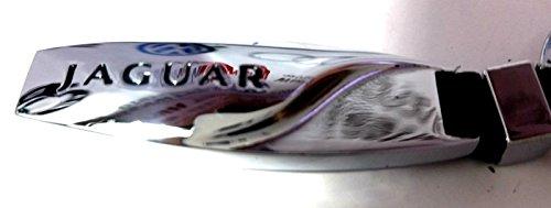 Jaguar S Type X Tipo XJ XF XK XKR XE e tipo portachiavi anello portachiavi chiave