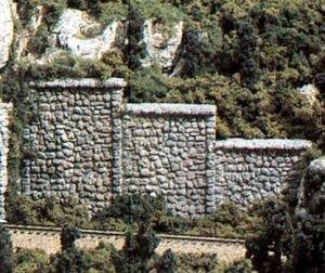 N Retaining Wall, Random Stone (6)