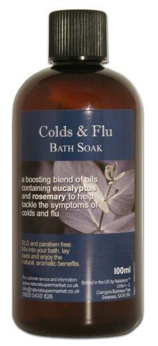 100ml Colds and Flu Bath Soak
