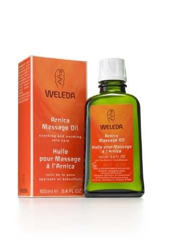 Weleda Arnica Massage Oil, 3.4-Ounce