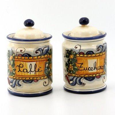 Italian kitchen canister sets for Italian kitchen set