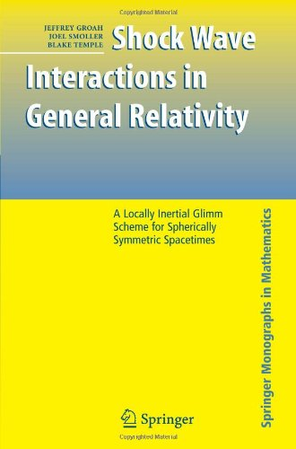 Shock Wave Interactions in General Relativity: A Locally Inertial Glimm Scheme for Spherically Symmetric Spacetimes (Spr