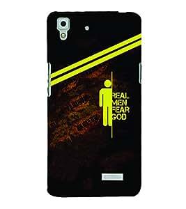PrintVisa Cool Boy Quotes Men 3D Hard Polycarbonate Designer Back Case Cover for Oppo R7