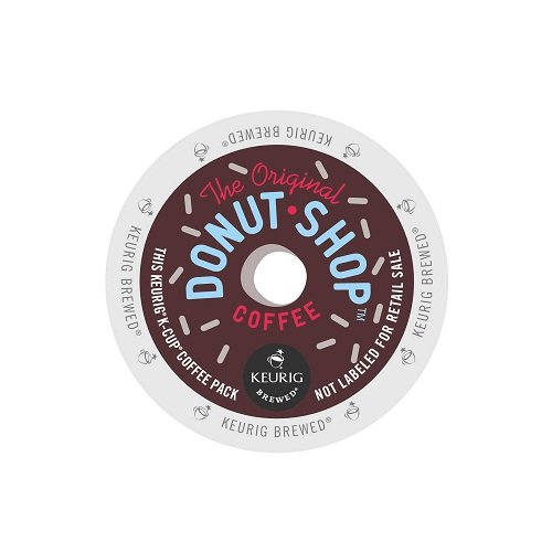 Coffee People Donut Shop Coffee, Regular Medium Roast, K-Cup Portion Count for Keurig Brewers 24-Count (Pack of 4) (Keurig Coffee Regular compare prices)