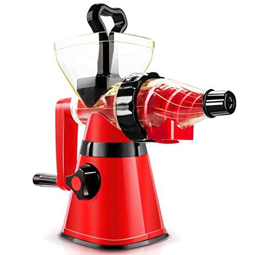 SHINKODA SK-326H Manual Cold Press Slow Juicer - Black/Red