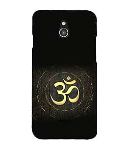 printtech Om God Logo Back Case Cover for Infocus M2 4G
