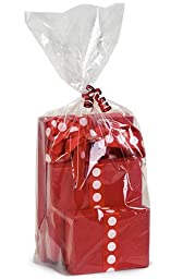 Cks9110 Cakesupplyshop- 100pack Clear Cello/cellophane Bags Gift Basket Packaging Bags Flat- 18\