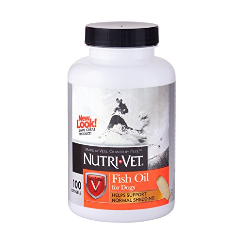 Nutri-Vet Fish Oil Softgels, 100 Count (Fish Vet compare prices)