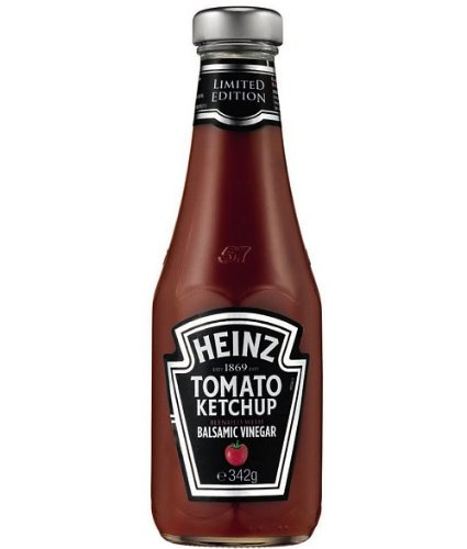 Heinz Limited Edition Tomato Ketchup Blended with Balsamic Vinegar 14 Oz Pack of Two