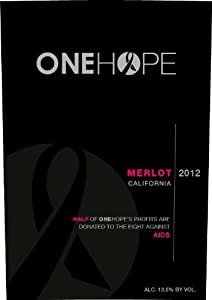 2012 ONEHOPE California Merlot 750 mL