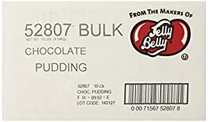 Jelly Belly Chocolate Pudding Jelly Beans, 10-Pound Box