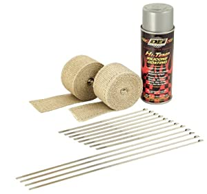 DEI 010331 Motorcycle Exhaust Pipe Wrap Kit