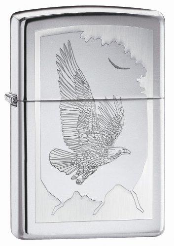 Zippo Birds Of Prey - High Polish Chrome
