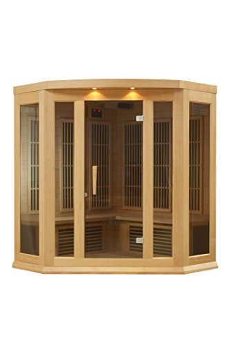 DYNAMIC-SAUNAS-AMZ-MX-K356-01-Maxxus-Reims-3-Person-Corner-Far-Infrared-Sauna