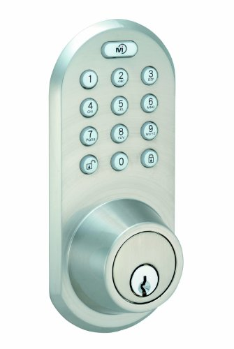 Morning Industry Qf-01Sn Keypad And Remote Deadbolt, Satin Nickel