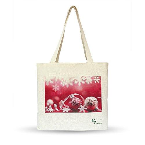 genie en einkaufstaschen taschen weihnachtsbeutel handtasche einkaufstasche f r weihnachten. Black Bedroom Furniture Sets. Home Design Ideas